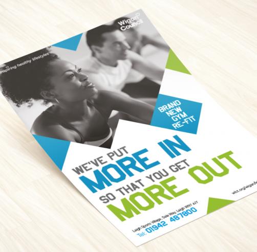 Heckford leaflet design