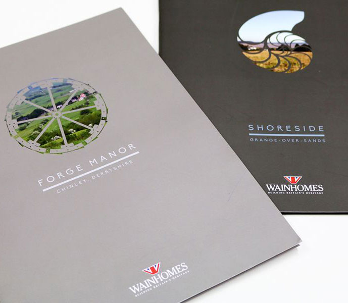Wainhomes brochure design