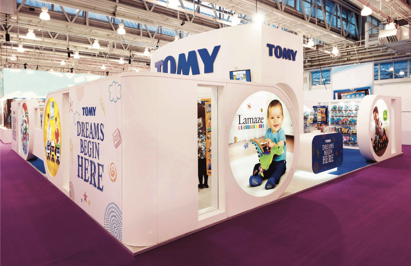 Tomy Exhibition Stands