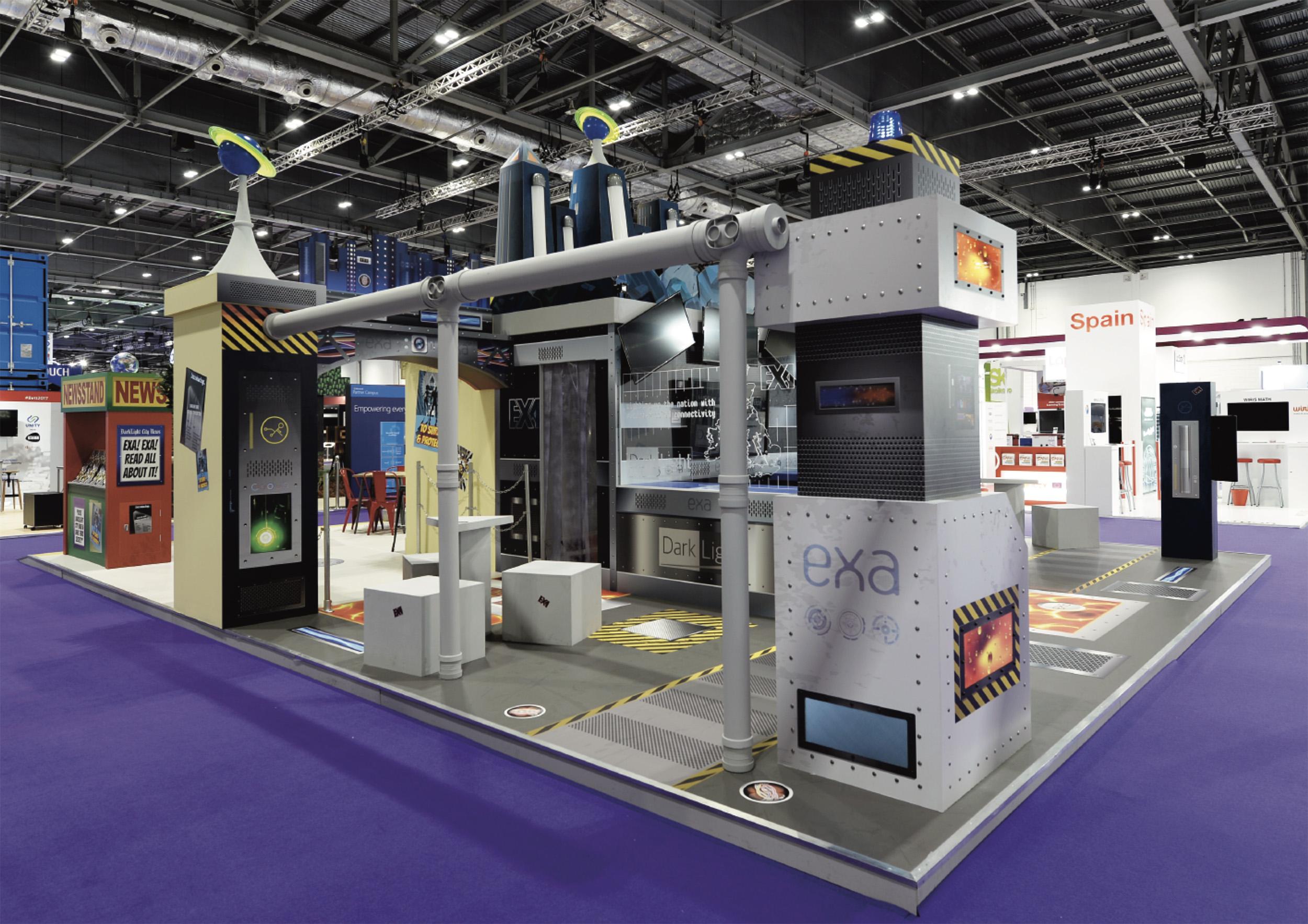 EXA exhibition stand