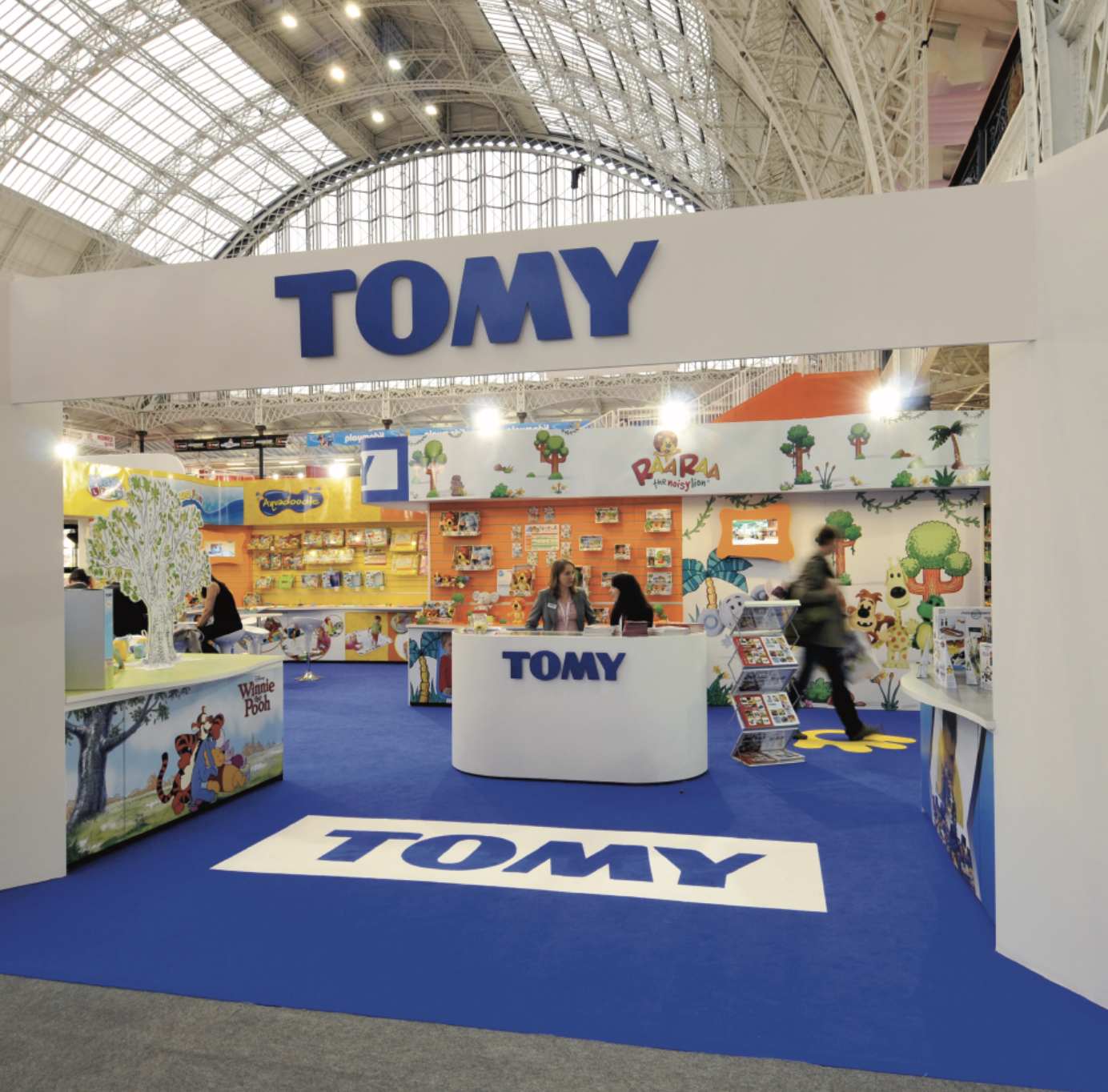 Tomy exhibition solution