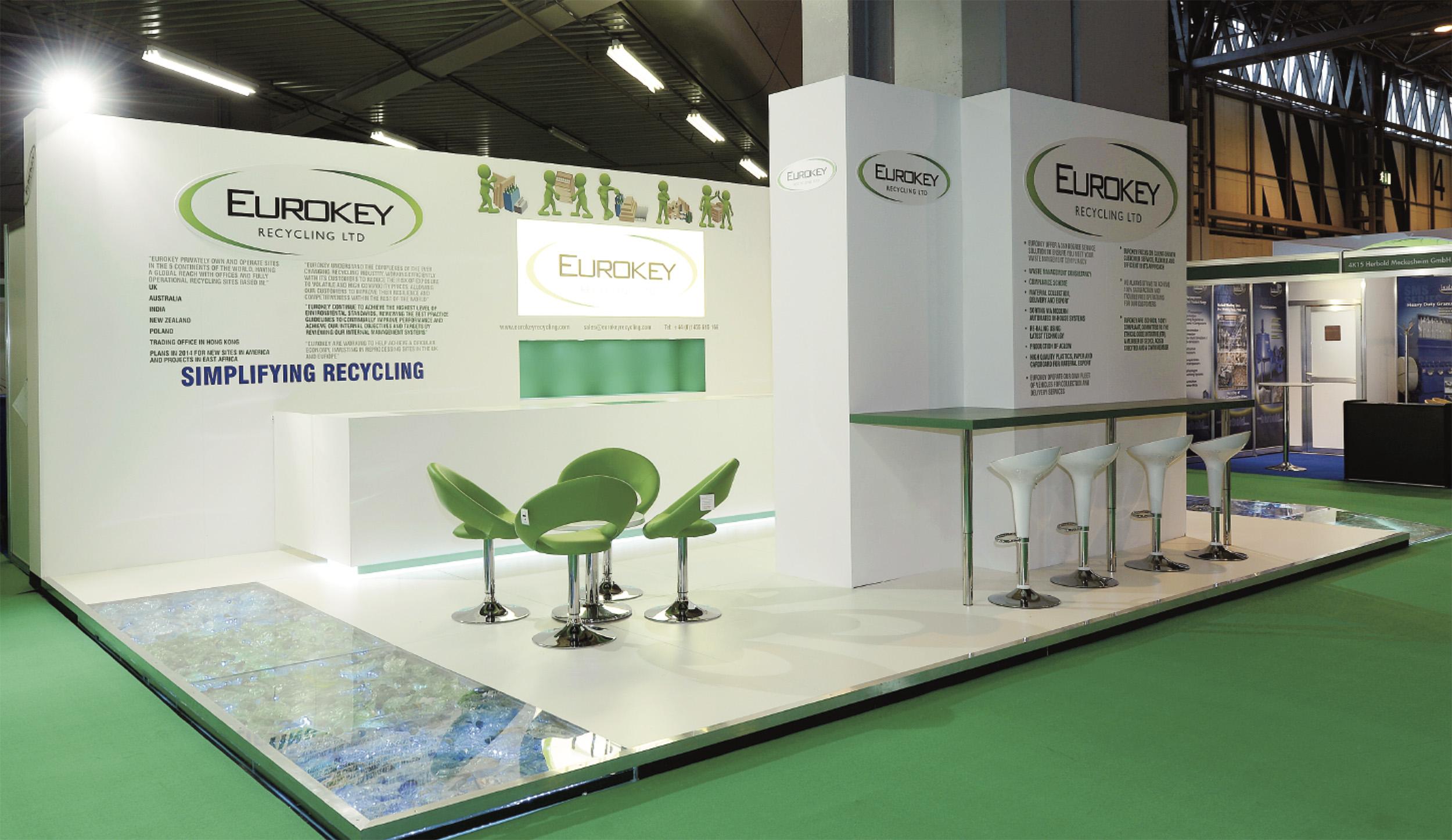 Eurokey exhibition stand