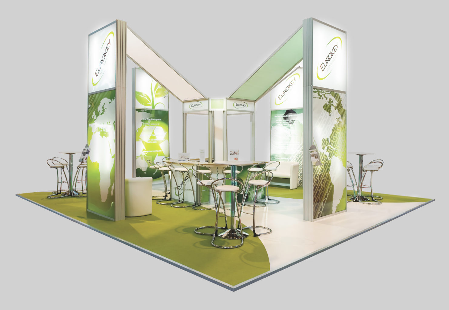 Eurokey Exhibition Stands