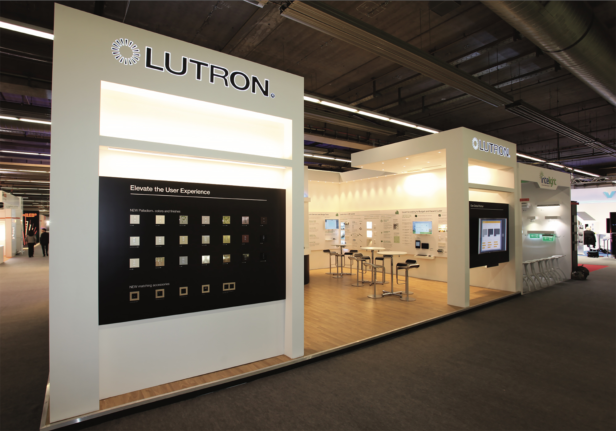 Lutron exhibition stand