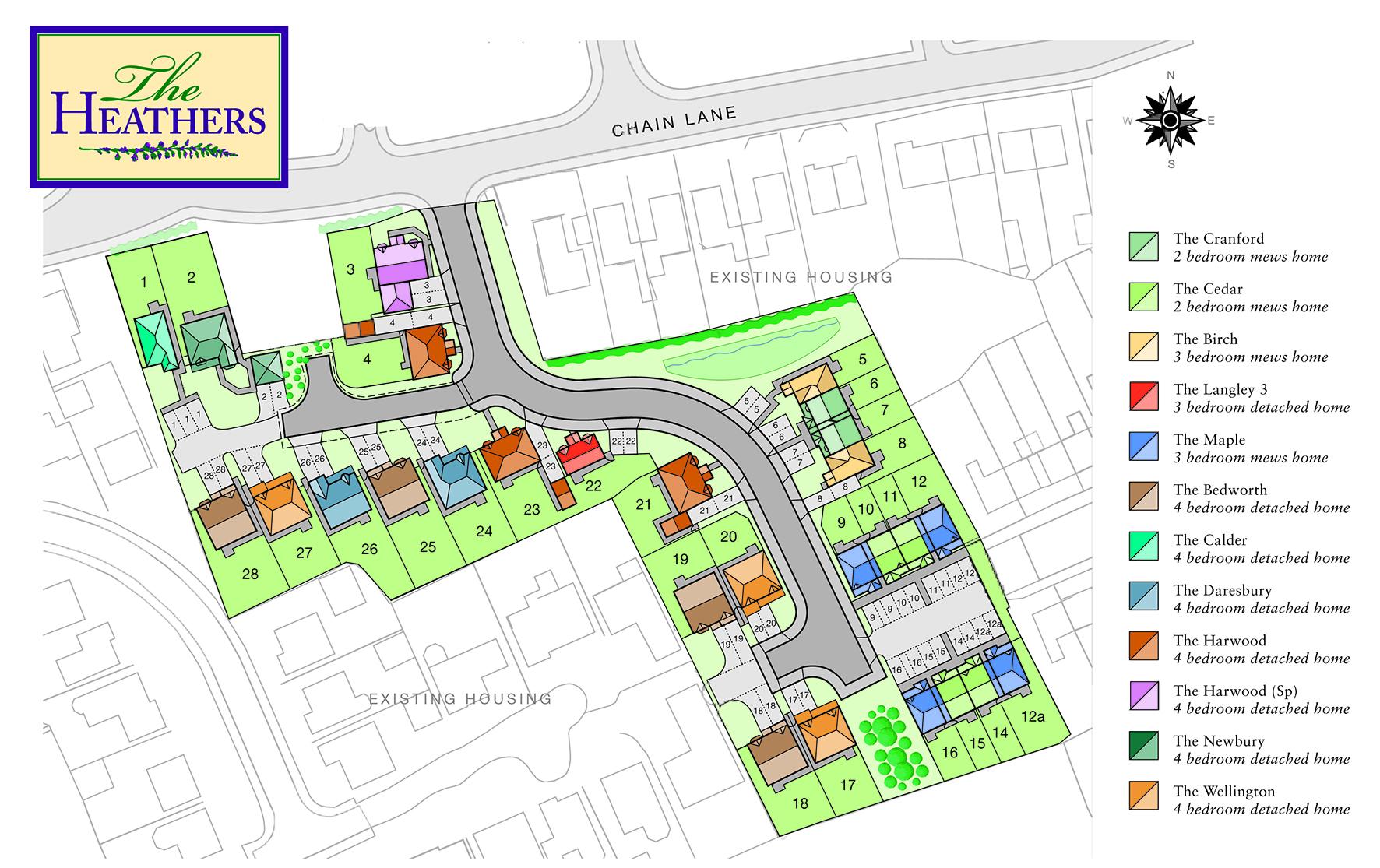 Heckford Housing site plans