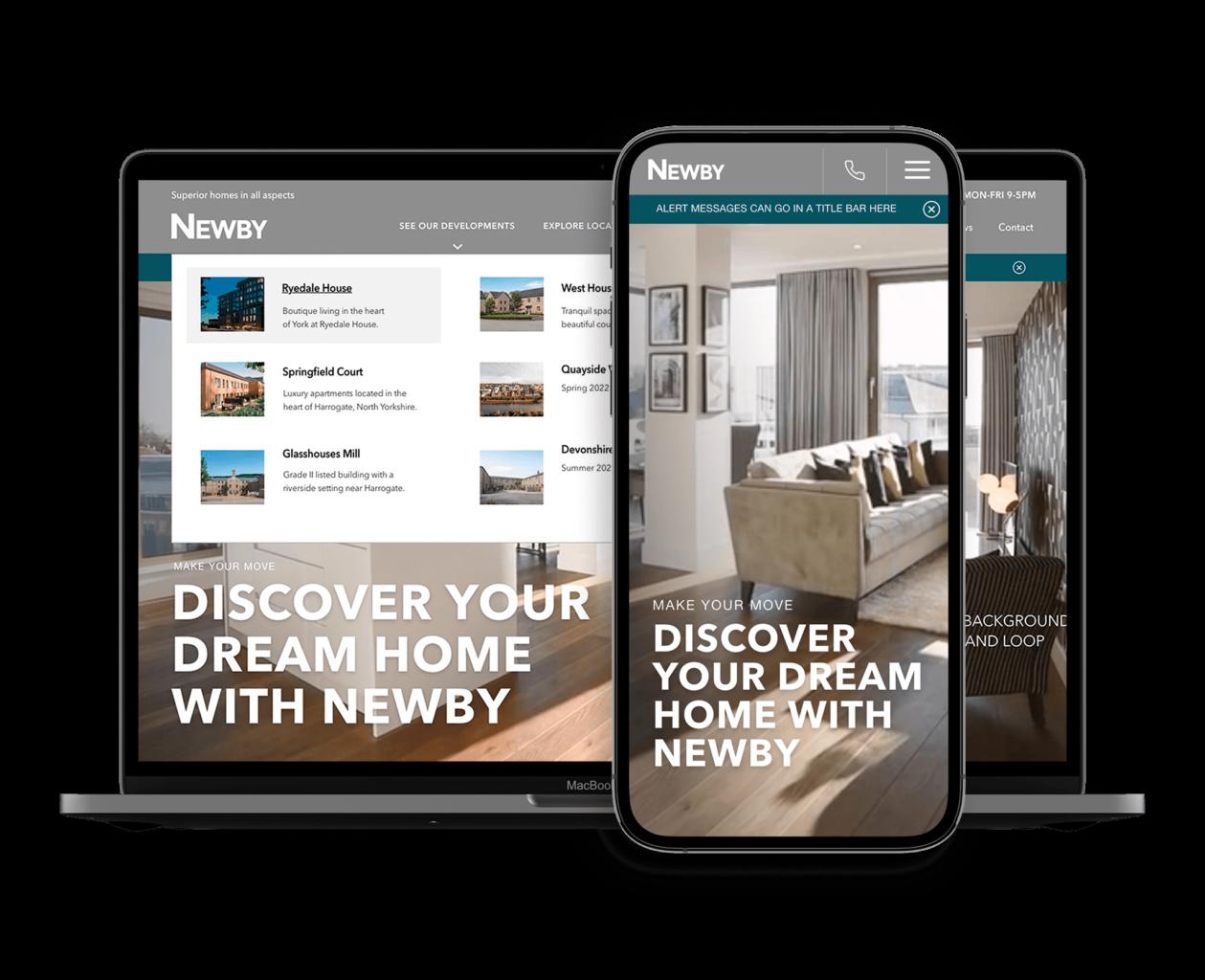 Digital marketing for property developer